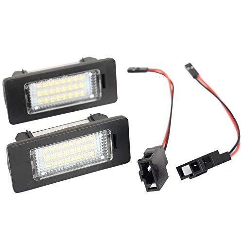LED Kennzeichenbeleuchtung Nummernschildbeleuchte für A1 A4 A5 A6 A7 TT Fabia 2 Yeti Passat Variant