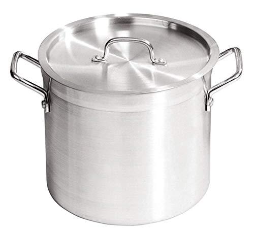 ZSP - Olla con tapa (aluminio, 16 L)