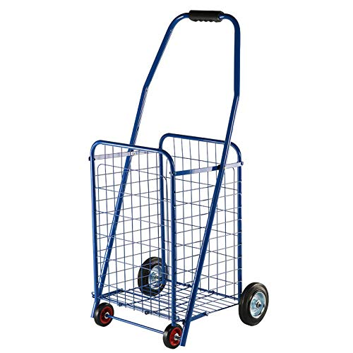 QXTT Shopping Trolleys Shopping Trolley Supermarket Folding Trolley Cart Older Convenient Shopping Cart Multi-functional Leisure Tug