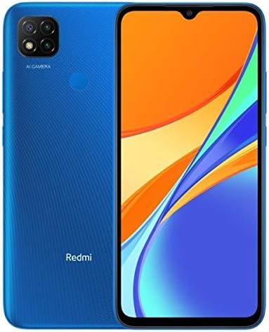 Xiaomi Redmi 9c   32GB, 2GB RAM   6.53″ Display + Rear Mounted Fingerprint Scanner   GSM LTE Factory Unlocked Smartphone   International Model (Twilight Blue)