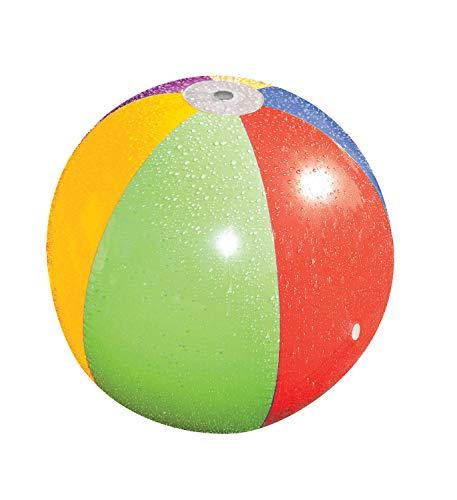 Poolmaster Splash and Spray Beach Ball Sprinkler Water Toy