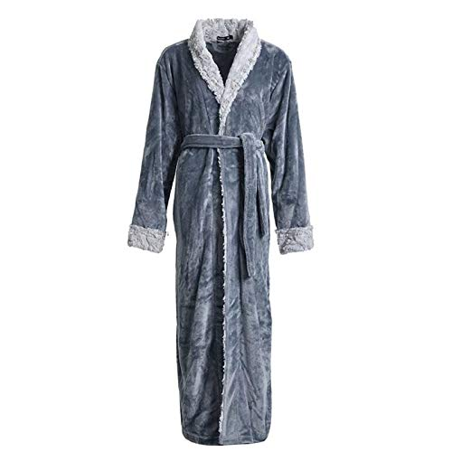 KAISUN Damen Winter Fleece Morgenmantel Langer Bademantel Weich Warm Flauschiges...