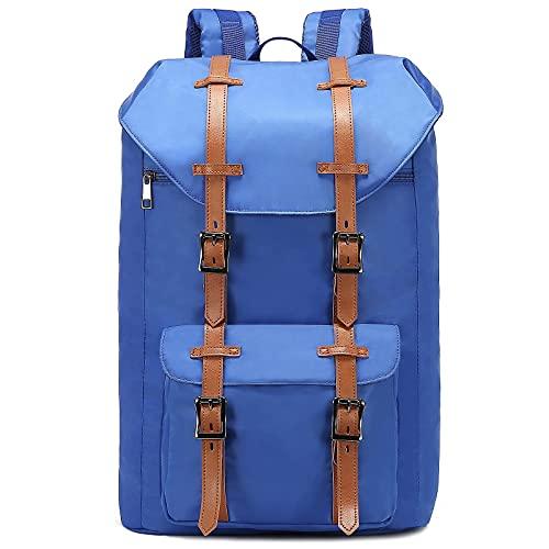 LOVEVOOK Rucksack Damen Herren, Laptop Rucksack mit 15.6 Zoll Laptopfach Schön Daypack Wasserdichte Reiserucksack für Uni, Schule