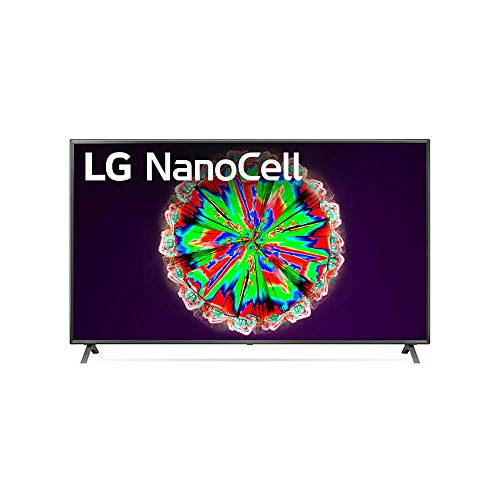LG 75NANO80UNA Alexa Built-in Nano 8 Series 75' 4K Ultra HD Smart LED Nanocell TV (2020)