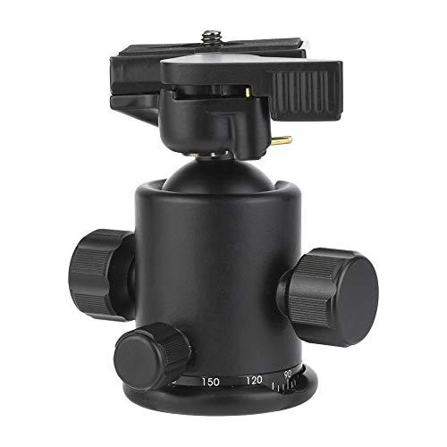 Panoramisch 36 mm Balhoofdstatief, 360 Graden Camerahouder, Duurzame Aluminium Camerabasis met Dubbele Gradiënt voor Stabiel, Gemakkelijk Opnemen, Compatibel met digitale spiegelreflexcamera