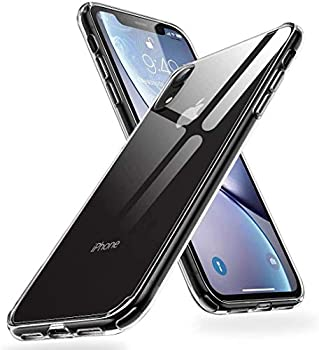 Humixx Crystal Clear iPhone XR Case [Military Grade Drop Protection] with Anti- Drop Hard PC Back and Soft TPU Edge Shockproof Protective Case Designed for Apple iPhone XR 2020 -Clear