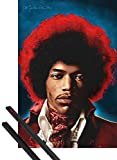 1art1 Jimi Hendrix Poster (91x61 cm) Both Sides of The Sky