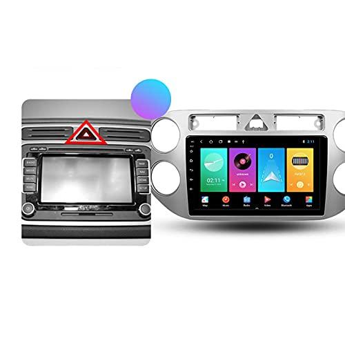 ADMLZQQ Autoradio 2 DIN per Volkswagen Tiguan 1 2006-2016 Android con Bluetooth per Auto 9'' IPS Touchscreen 5G WiFi Auto Info Plug And Play Supporto Carautoplay/Dab+/OBDII,Type a,M600S