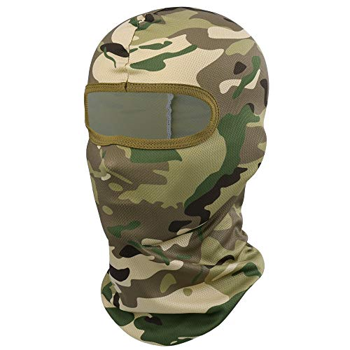 YOSUNPING Camouflage Balaclava Full Face Mask Hood Ninja Cycling Motorcycle Hunting Fishing Military Tactical Helmet Liner Gear 01