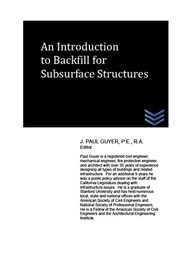 An Introduction to Backfill for Subsurface Structures