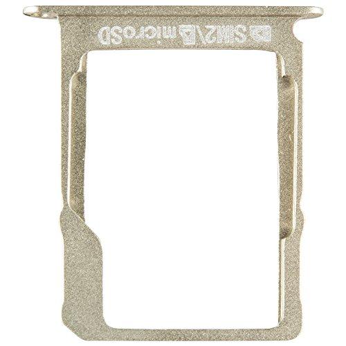 Unbekannt Original Samsung SD-Kartenhalter Gold für Samsung Galaxy A3, A5, A7 (Speicherkarten Halterung Schlitten SD-Tray) - GH61-08201B