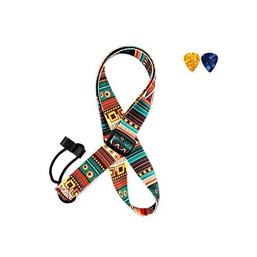 Ukulele Strap Adjustable Length, J Hook Clip On No Drilling Neck Strap, Compatible With Mandolin, Banjo, etc.