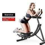 Entraîneur Abdominal Pliable AB, Entraîneur De Taille 5 Minutes Shaper, Fitness Trainer Toner Body Exercise Machine, Home Trainer