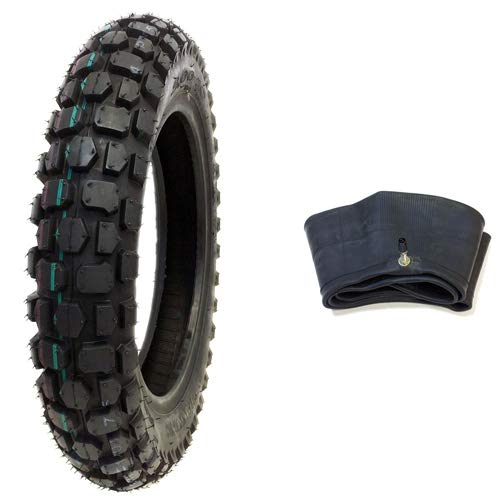 Buy Bargain MMG Bundle Combo Knobby Tire with Inner Tube 3.00-10 Front or Rear Trail Off Road Dirt B...