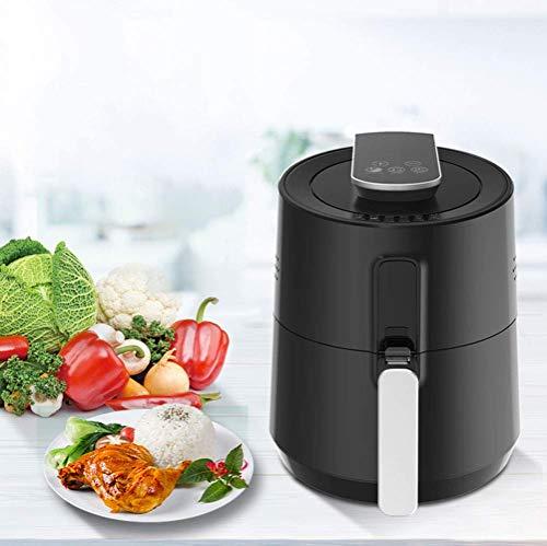 RENXR Freidora Sin Aceite, Freidora De Aire Caliente con Programas, Air Fryer con Temperatura Y Temporizador Ajustable, Cesta Antiadherente, Libre De BPA