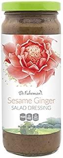 Dr. Fuhrman's Sesame Ginger Salad Dressing