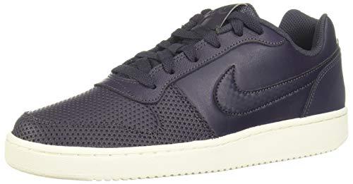 Nike Ebernon Low Premium, Zapatillas de Baloncesto Mujer, Negro (Gridiron/Gridiron-Sail 2), 37.5 EU