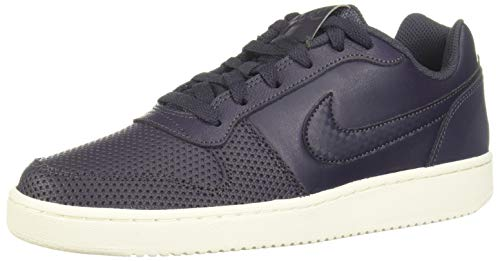 Nike Ebernon Low Premium, Zapatillas de Baloncesto para Mujer, Negro (Gridiron/Gridiron/Sail 2), 42.5 EU