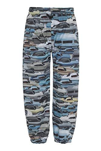 Molo - Regenhose für Jungen - Waits Cars - Blau/Multi