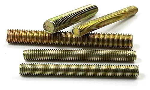 20pcs Dental Strip Métrico galvanizado Largo Galvanizado Eje Completo Barra de Barra de Barra Tornillo roscado (Size : M8*120mm)