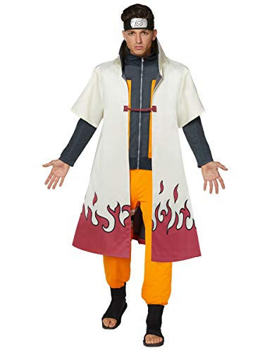 Spirit Halloween Adult Naruto Hokage Robe | Officially Licensed - L/XL