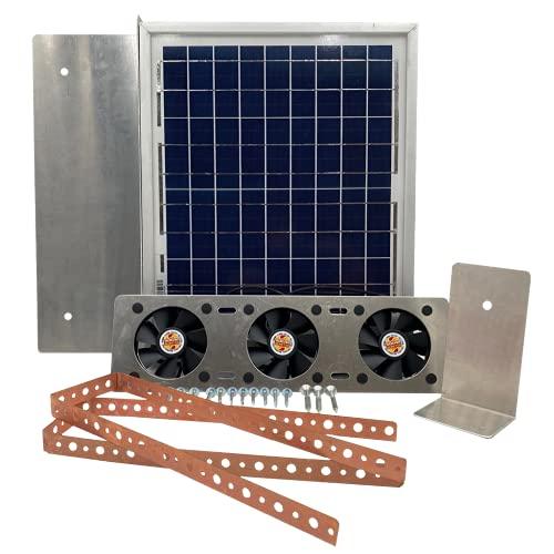 Solar Attic Fan for Ridge Vents - Solar Roof...