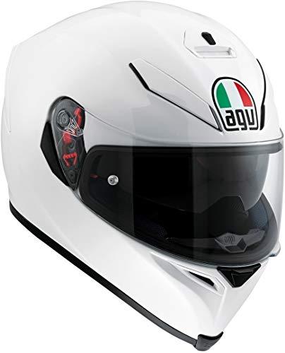 XS Blanco Perla AGV 0041A4MY/_005/_XS K5 S Solid Casco Moto Integral