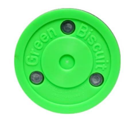 Green Biscuit PASS Trainingspuck f. Eishockey, Hockey Puck Asphalt
