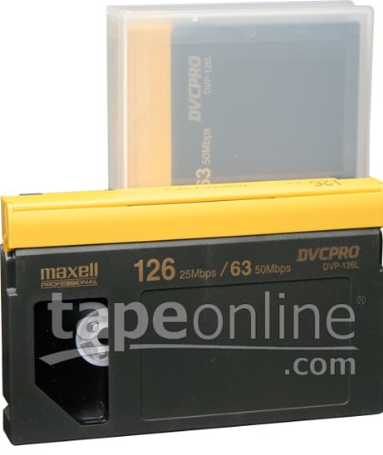 Sale!! Maxell DVP-126L DVCPro Video Tape 126 Minute, Large