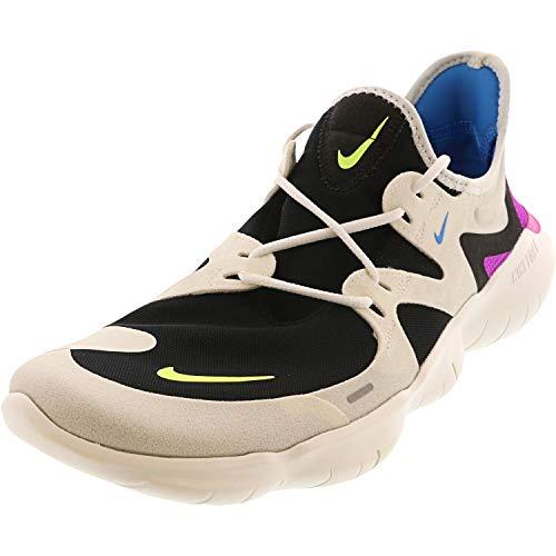 Nike Men's Free Rn 5.0 Track & Field Shoes, Multicolour (Summit White/Volt Glow/Black/Blue Heron 000), 9 UK