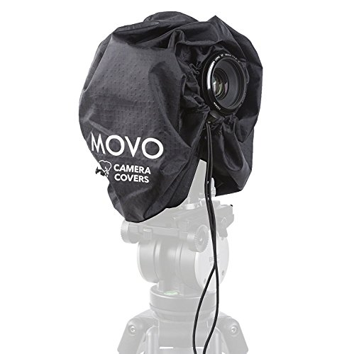 "Movo CRC11 Camera Rain Coat Rain Cover for DSLR Cameras and Mirrorless Cameras and Lens (Junior Size: 11"" x 14.5"")"
