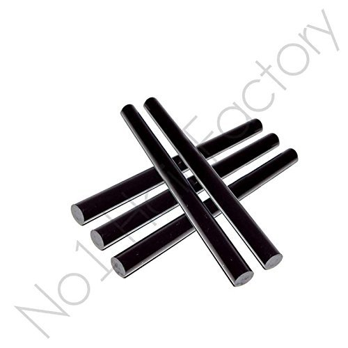Grand noir 5 x cheveux Extension Kératine Bâtons de colle Royaume-Uni