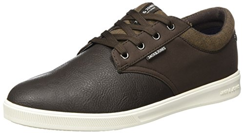 JACK & JONES Herren Jfwgaston PU MIX Java Sneaker, Braun (Java), 41 EU