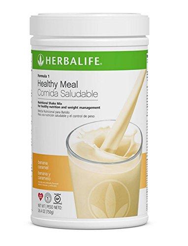 Herbalife Formula 1 Gesunde Mahlzeit Ernährung Shake Mix (10 Geschmack) Banane 550 g