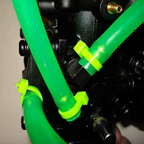 ZYEKOYA 1M Motorcycle Rubber Fuel Line Gas Oil Hose Modified Fuel Line Petrol Tube Pipe Rubber Fuel Line For Motorcycle Bike Parts Color : A