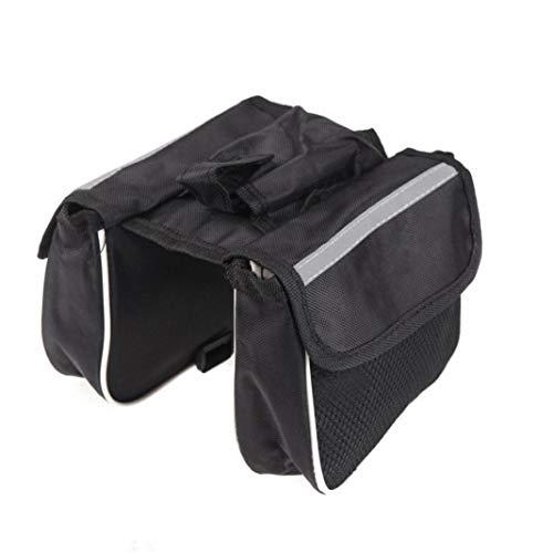 YSHTAN Fahrradschlauchtasche für Fahrradausrüstung, Doppeltasche, Handyaufbewahrung