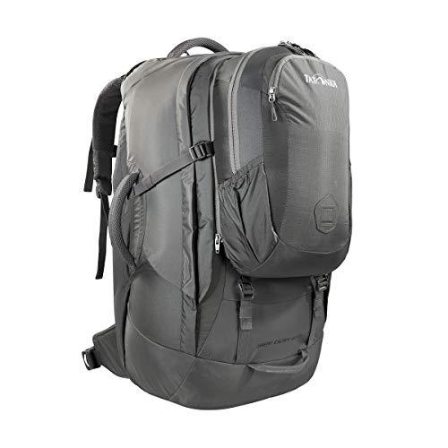 Tatonka Great Escape 60+10 – Sac à dos de voyage avec sac à dos amovible (10 l) – Pour homme et femme – 70 l – 67 x 33 x 20 cm, Mixte, 1140, Gris titane, 67 x 33 x 20 cm