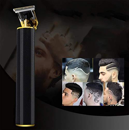 D&M Männer Glatze Haarschneidemaschine Zero Gapped Detail Bartrasierer Barbershop Electric Pro Li Outliner Pflege Wiederaufladbarer Akku-T-Klingen-Trimmer mit engem Schnitt