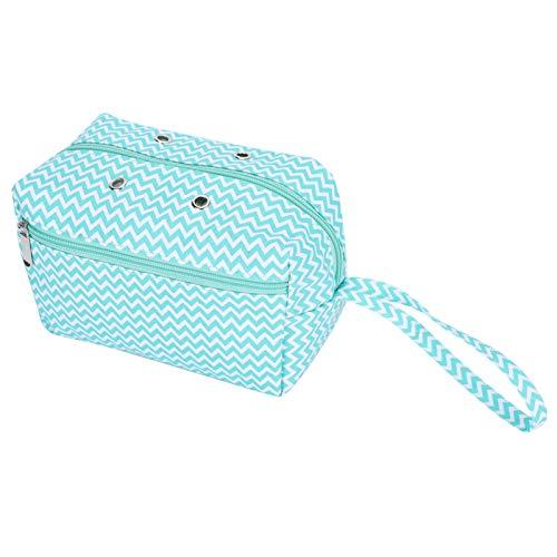 Bolsa de ganchillo para tejer Organizador de hilo Bolsa de almacenamiento de ganchillo DIY Aguja de tejer para el hogar Gancho Tipo de lana Organizador de mano Tamaño pequeño para almacenamiento de hi