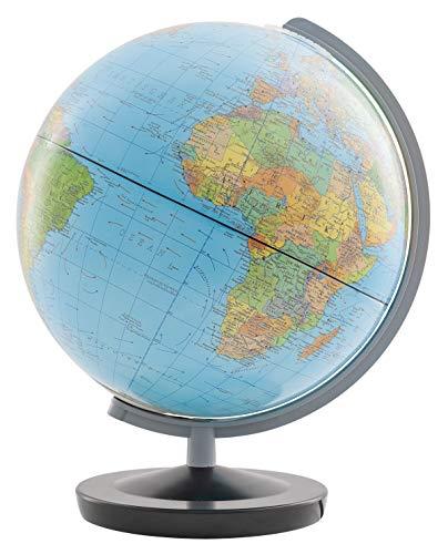 Columbus Globus Jugend-Leuchtglobus Terra 402612Q, 260 mm, Lange Leuchtkraft