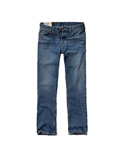 Hollister - Pantalones vaqueros para hombre (30 x 34 cm), color azul