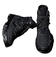 [バイバン] メンズ スニーカー ハイカット 裏起毛 ショートブーツ 冬 韓国ファッション 防寒靴 あったか(26黒)
