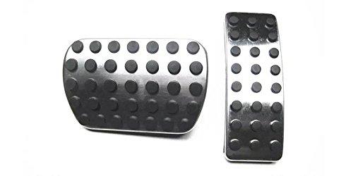 Per A B M ML CLA R Class AT Coperchio di protezione del pedales Acceleratore freno dell'File automobile pedale 2 pezzi