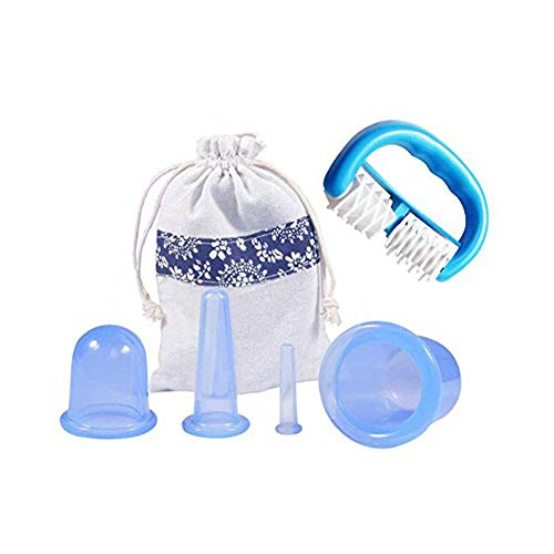Yosooo Silicone Anti Cellulite Cup Vacuum Massage Cups with Massage...