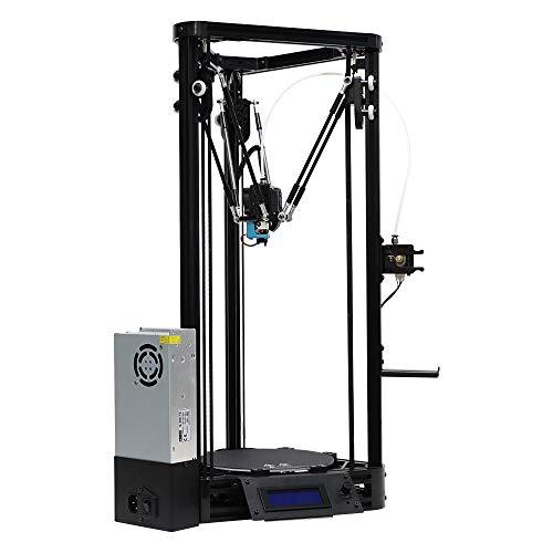 L.J.JZDY Imprimante 3D Linéaire de poulie de l'imprimante 3D assemblé avec nivellement Automatique, Plus Grand kit d'impression 3D de Taille d'impression 3D