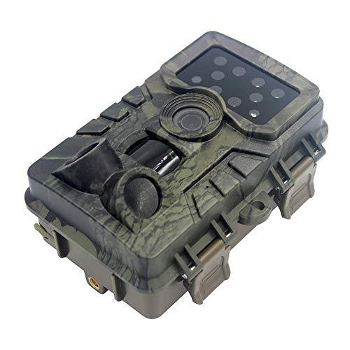 Hifuture Wildkamera Trail Kamera 20MP HD 1080p Nachtsicht Outdoor Lebendes Tier Überwachung IP66 Wasserdichtes Wild Scouting Nachtsichtgeräte 120 ° Verfolgung Von Wildtieren Garten Heim Sicherheit