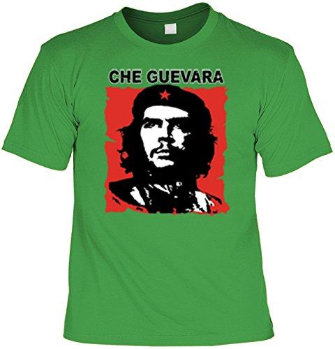 Revolution T-Shirt Che Guevara (Größe: M) in hell-grün
