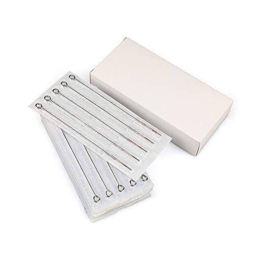 GOMAR 300 PCS mélange Mixte INOX Aiguilles de Tatouage jetables Professionnel Kit d'aiguille de Tatouage Provisions
