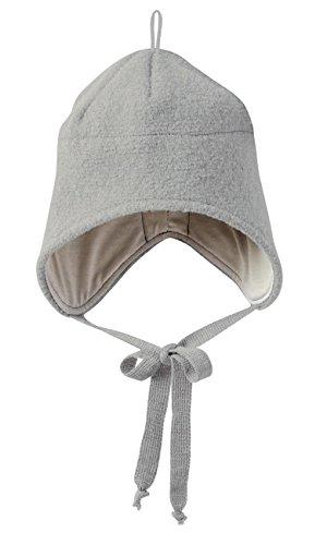 Disana Walk-Mütze 100% bio-Schurwolle/ Futter 100% bio-Baumwolle grau (03 (50 - 54...