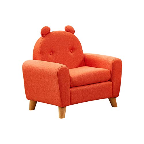 YILANJUN Kids Cartoon Single or Double Seat, Easy to Clean, Stylish Baby Sofa for Families and Kindergartens, Child Learning Chairs, Armchairs for Girls and Boys (Multicolor)